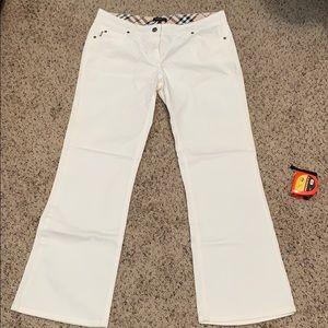 Burberry Pants Jeans Sz 14